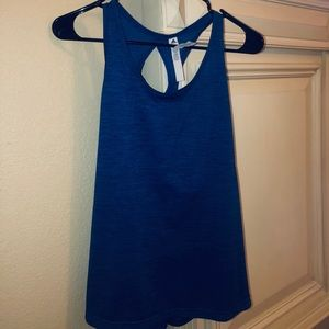 Blue Adidas tank top athletic/workout size large
